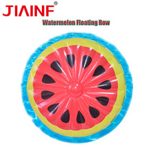JIAINF 180cm Watermelon Adult Pool Floating Row PVC Water Laps Sports Beach Inflatable Floating Row Swimming Chair(China)