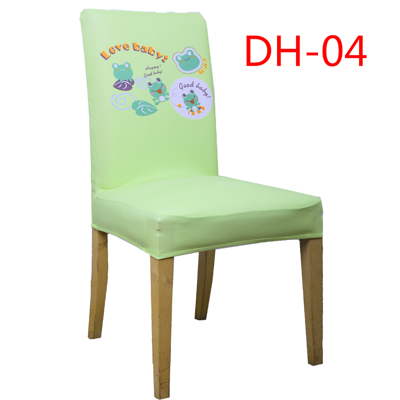 Lovely Animals Universal Spandex Chair Covers Decoration Dining Room Chair Cover Home Party Decor