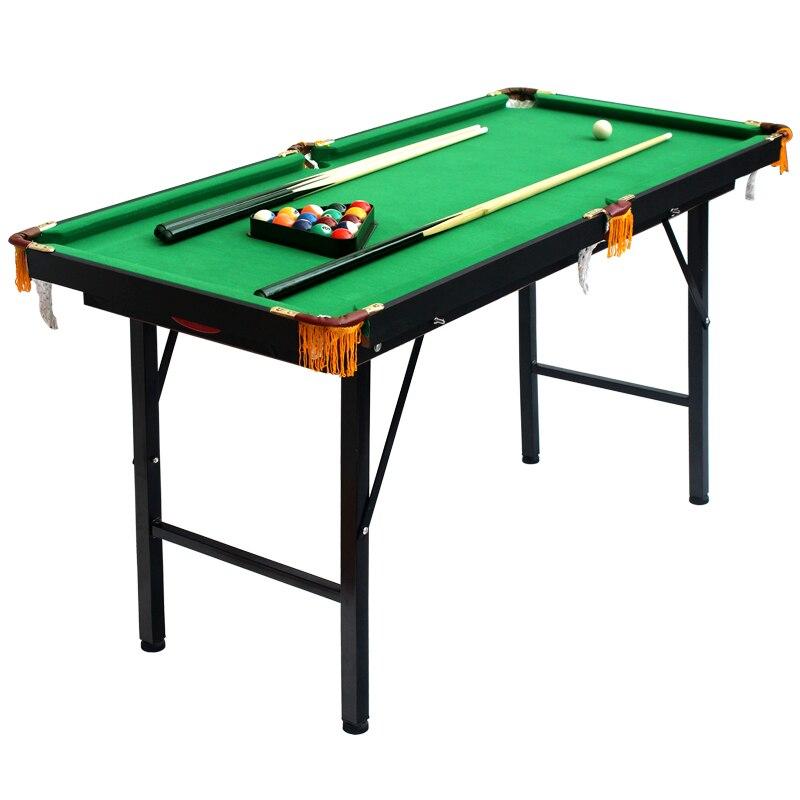 1.2M Height Adjustable And Folding American Pool Table Biilard Table Pool  Table For Kids Mini Billiard Table