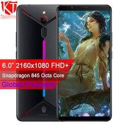 Перейти на Алиэкспресс и купить original zte nubia red magic mars mobile phone 6.0дюйм. 6gb ram 64gb rom snapdragon 845 octa core front 16.0mp rear 8mp game phone