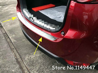 For Mazda CX 5 CX5 2nd Generation 2017 2018 1pc Exterior Car Styling Stainless Chrome Outer