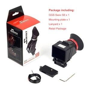 """Image 5 - GGS Swivi S6 Viseur avec 3 """"/3.2"""" Écran LCD pour Canon 5D2 5D3 6D 7D 70D 750D 760D pour Nikon D7000 D7200 D750 D610 D810 D800"""