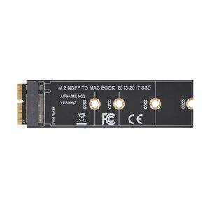 Image 1 - M2 NGFF PCIe AHCI adapter SSD wejście na kartę dla MACBOOK Air 2013 2014 2015 2017 A1465 A1466 Pro A1398 A1502 A1419 2230 2280 SSD