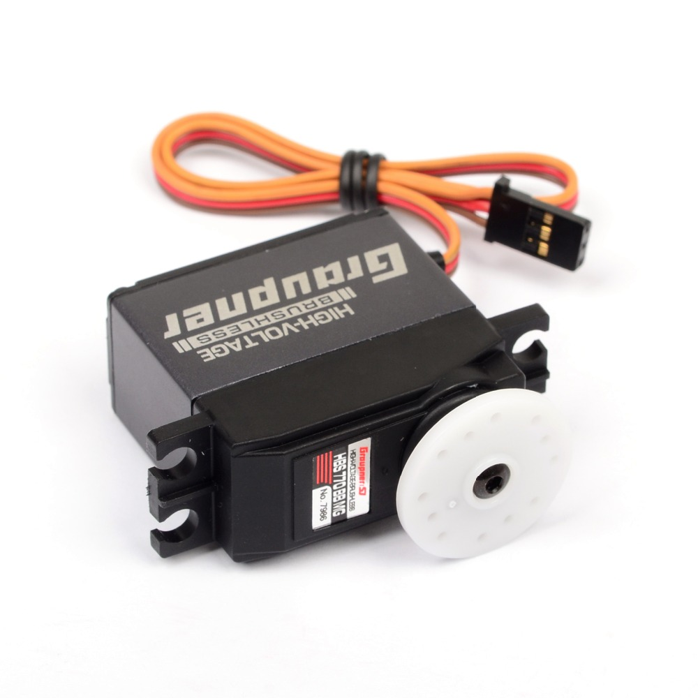 купить Graupner HBS 770 BBMG High-Speed 19.5mm HV BL Digital Servo RC Servo Digital For RC Helicopter Model Airplanes недорого