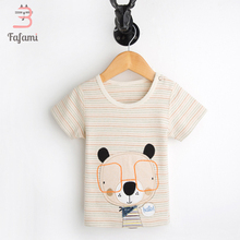 Newborn Baby boy girl Clothing Organic Cotton Brand Baby clothes Summer Short Shirt bebe Rompers Infant Christmas romper winter