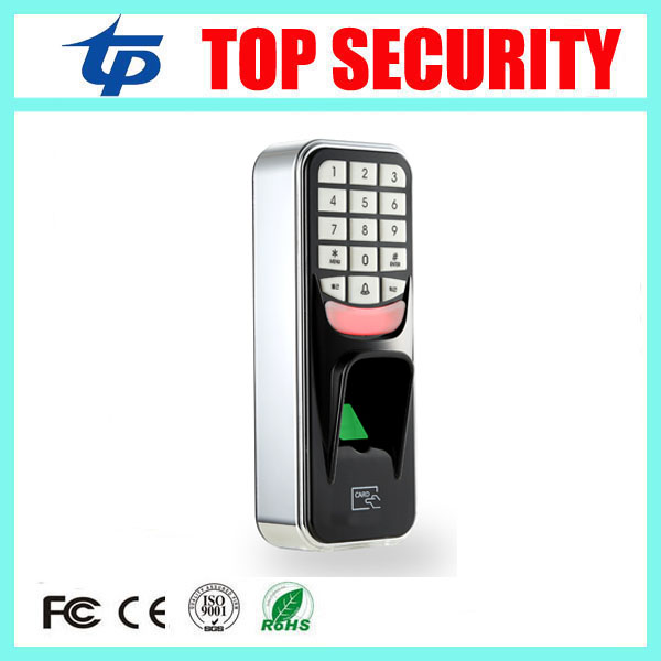 2pcs a lot biometric fingerprint door access control reader 500 user standalone finger and RFID card door access controller good quality waterproof fingerprint reader standalone tcp ip fingerprint access control system smat biometric door lock