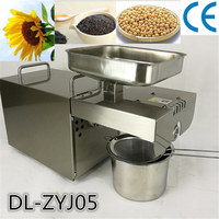Full Automatic Cold Press Small Soybean Oil Press Machine Almond Walnut Sunflower Seeds Oil Press Extraction