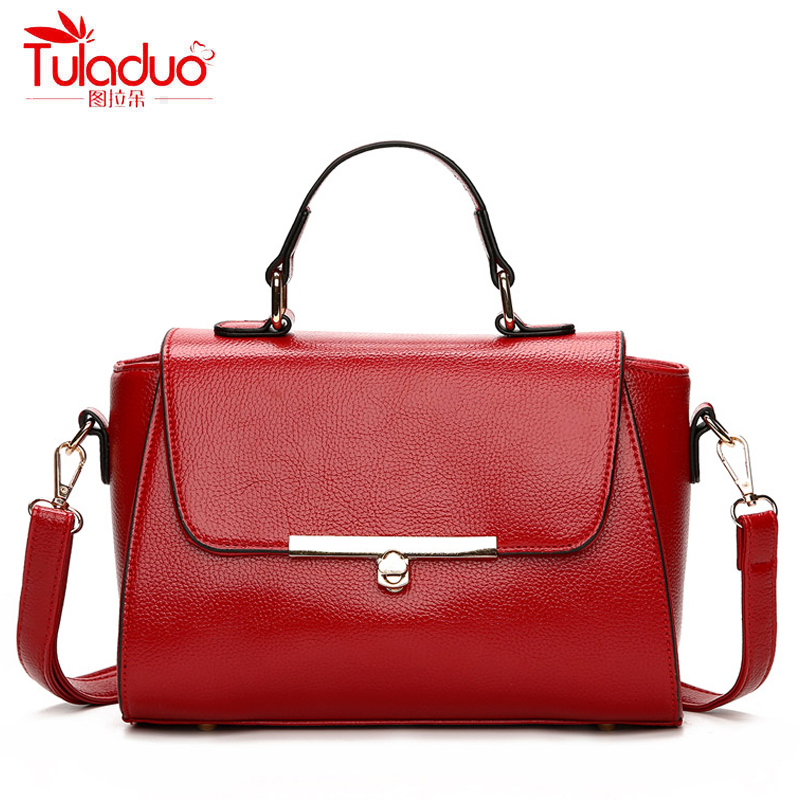 Small Trapeze Bag Women Handbags High Quality PU Leather Women Crossbody Bags Famous Brand Designer Ladies Messenger Bags 2018 bailar fashion women shoulder handbags messenger bags button rivets totes high quality pu leather crossbody famous brand bag