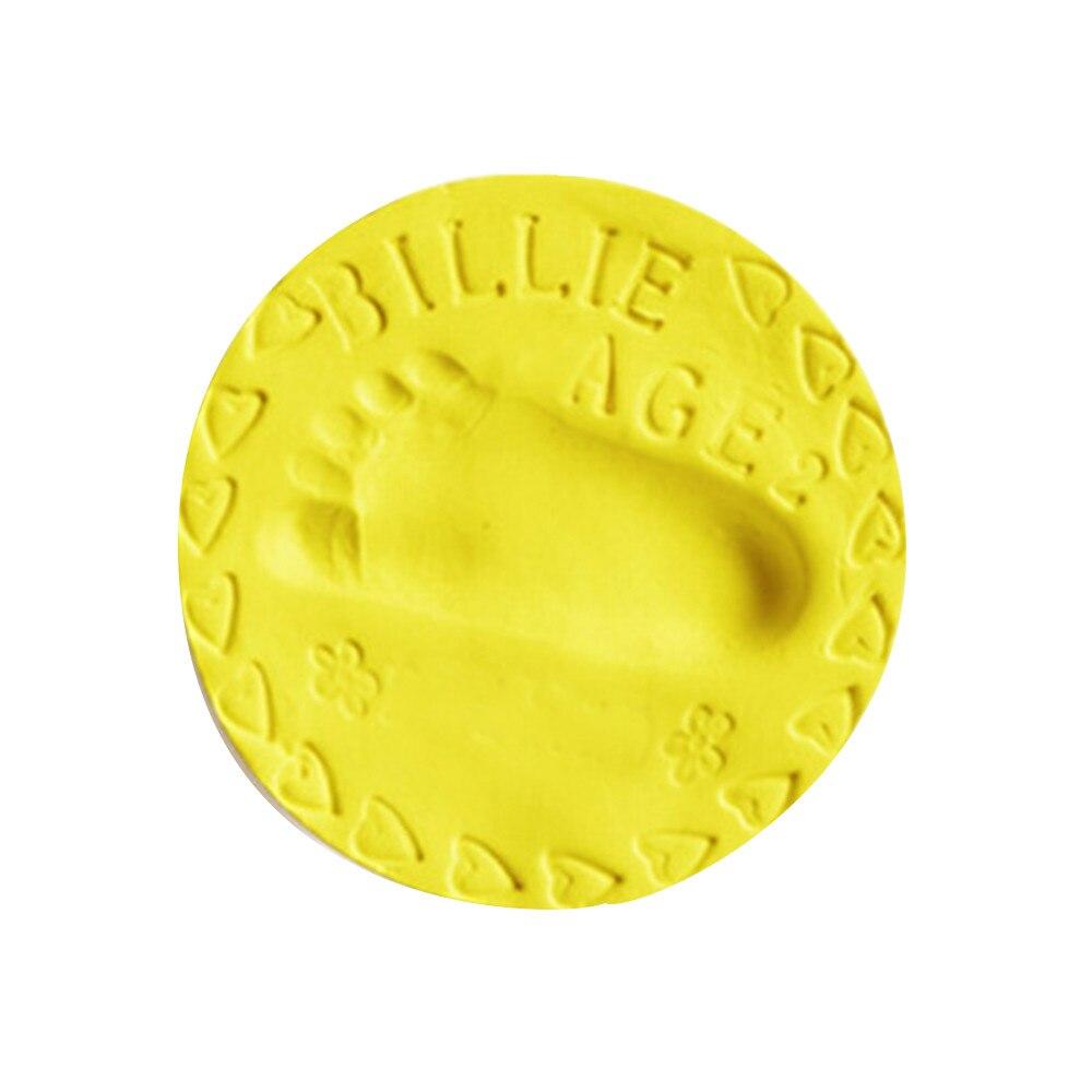 2018 New Fashion Baby Air Drying Soft Clay Handprint Footprint Imprint Casting Parent-child hand inkpad Fingerprint Hot Sale#35