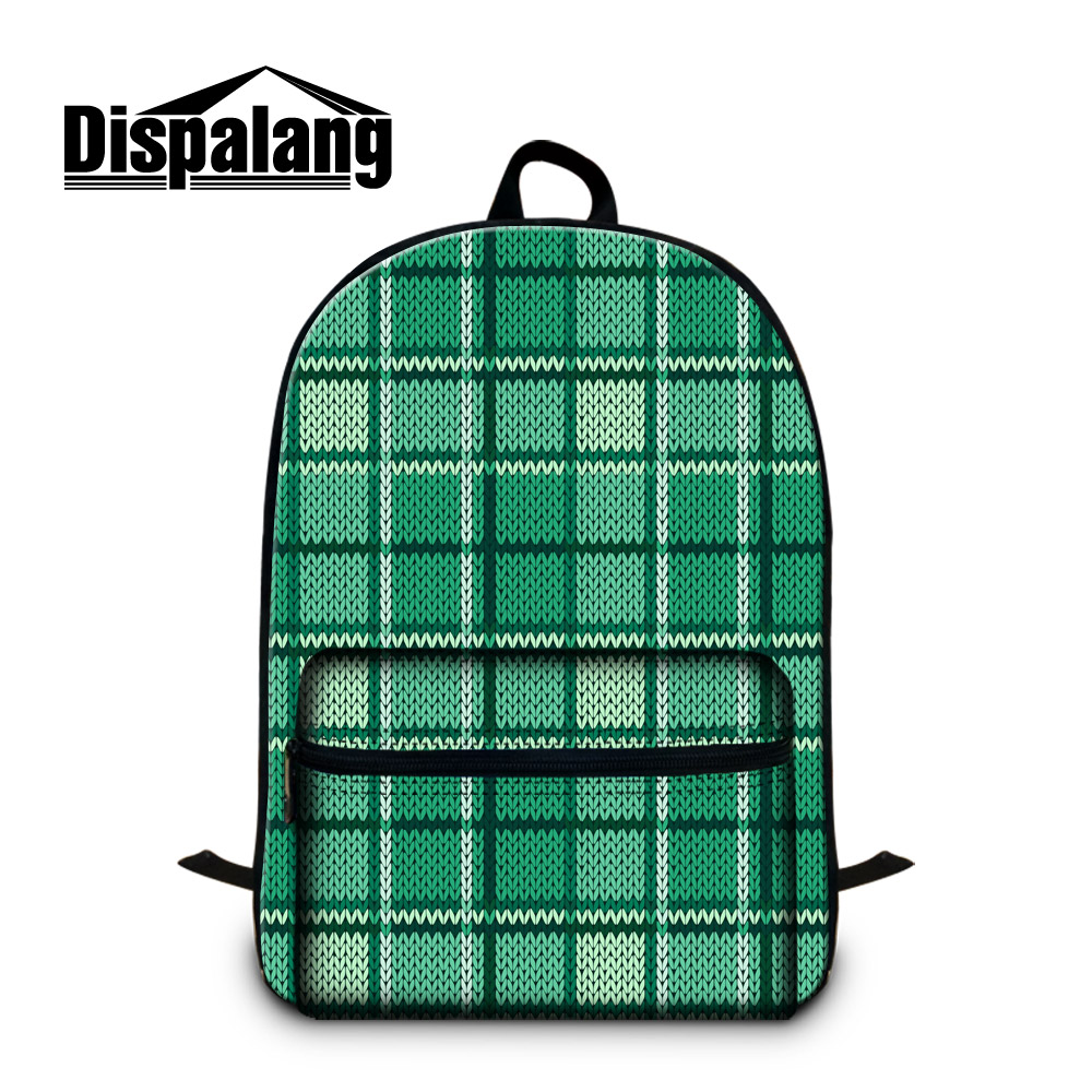 Dispalang Knitting Pattern Women Laptop Backpack Youth College Student Book Bag For Teenager School Bags Casual Travel Backpacks men backpack student school bag for teenager boys large capacity trip backpacks laptop backpack for 15 inches mochila masculina