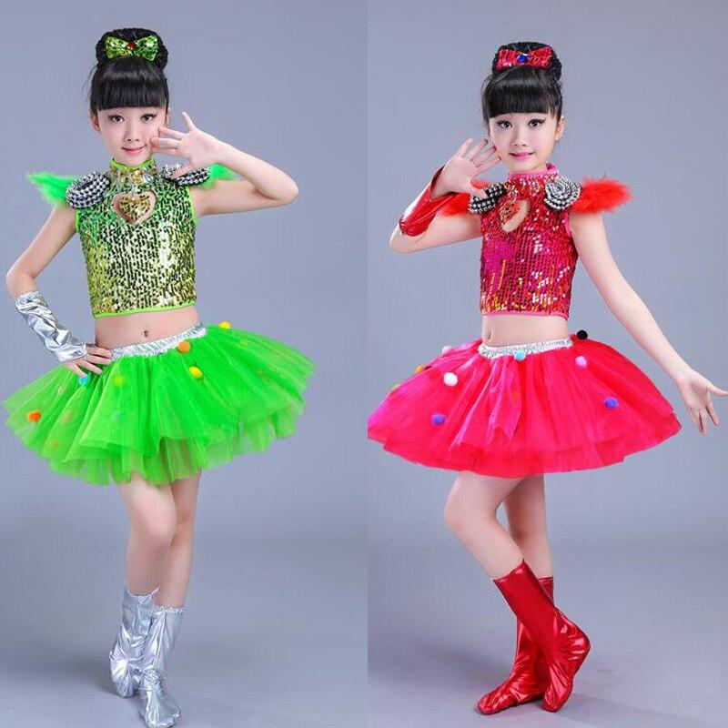 Детская одежда с блестками для бальных танцев, джаз, хип-хоп, сценическая одежда, костюмы для выступлений, одежда, топ, рубашка, шорты, сценическая одежда для мальчиков и девочек, танцевальные костюмы