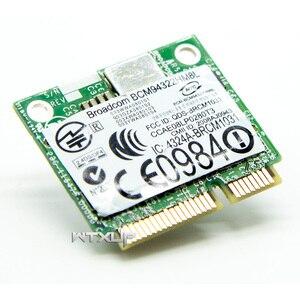 Image 4 - BCM94322HM8L BCM94322 Dual Band 300Mbps מיני PCIE WiFi אלחוטי כרטיס רשת 802.11a/b/g/n DW1510 עבור Mac OS/hackintosh