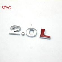 Автомобильная наклейка STYO для Mazda CX-5 Axela CX-7 ATENZA CX-9 M8 M3 M5 M6 стандарт выхлопных газов 2,5 л