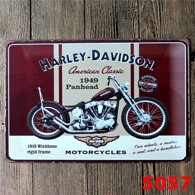 Metal Signs Motorcycle Harley Davidson Retro Metal Poster 40 New Classy Harley Davidson Signs Decor