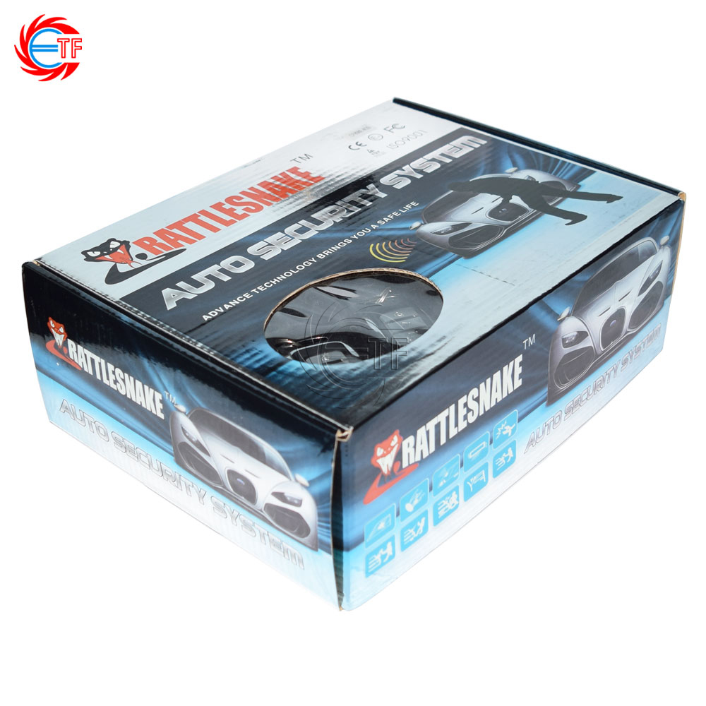 ФОТО ETF 898E-N20 one way car alarm with remote start 15V 6tones siren remote engine start anti theft device auto security system