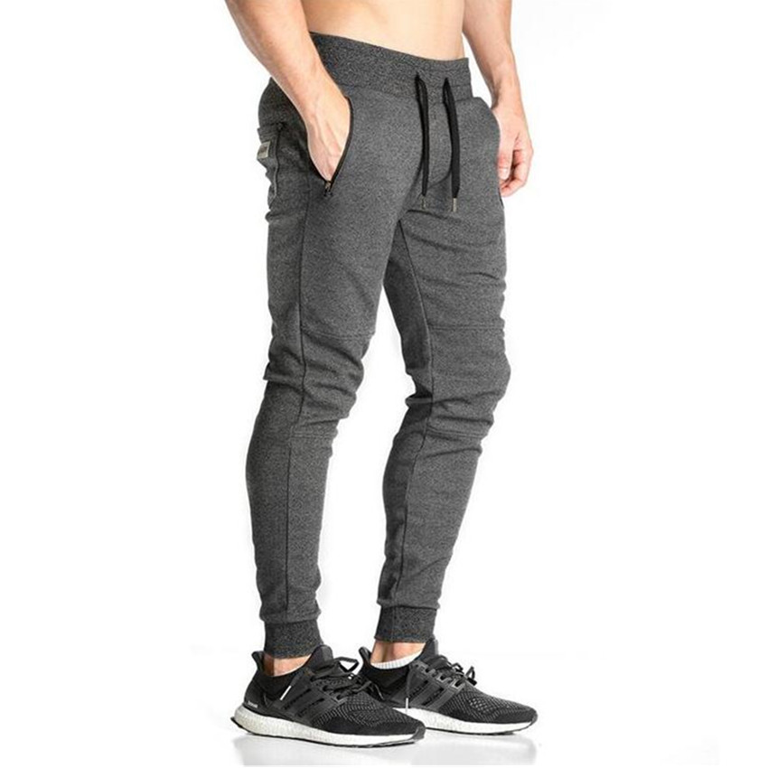 Elastic Cotton Men Sports Pants