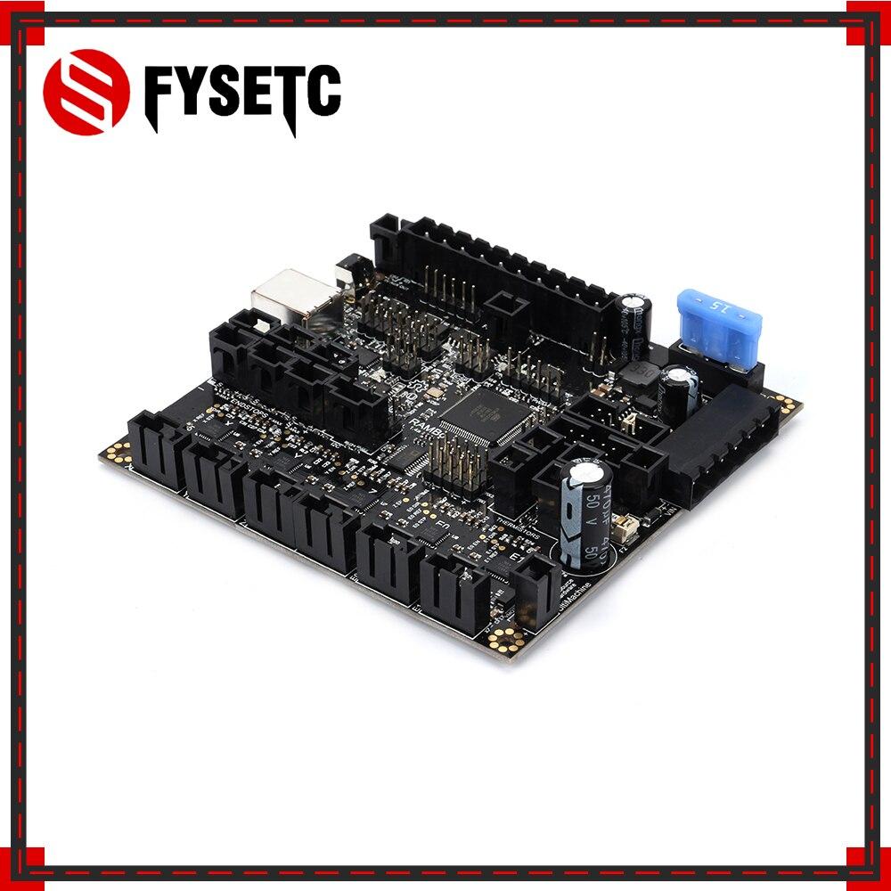 Рэмбо 1,4 материнская плата Рэмбо V1.4 доска Arduino МЕГА и драйверы шаговых все на одной интегрированной платы для Lulzbot Taz6 3D-принтеры