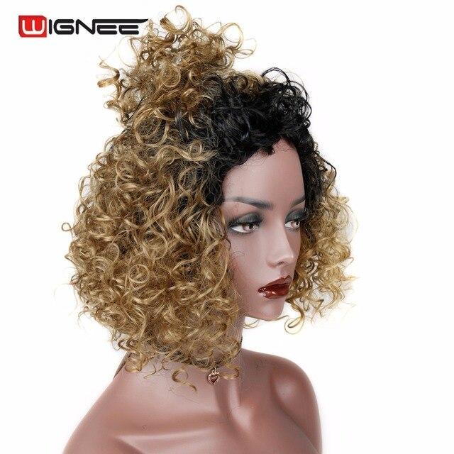 Aliexpress.com : Buy Wignee Short Afro Kinky Curly Halloween Wigs ...