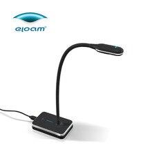 Eloam VH800AF 5MP A4 дизайн гусиная шея HD COMS гибкий USB сканер документов камера визуализатор Автофокус OCR PDF