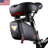 Waterproof MTB Mountain Road Bike Saddle Bag Seat Pouch Bicycle Rear Storage US