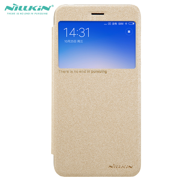 best service 0fcff 583e8 US $7.91  For Mi Redmi 5A Flip Case Nillkin Sparkle Leather Window Cover  case For Xiaomi Redmi 5a 5inch shockproof phone bag-in Flip Cases from ...