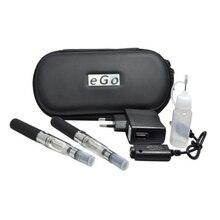 ร้อนขายego CE4คู่pcsบุหรี่อิเล็กทรอนิกส์ที่มีซิปกระเป๋าจัดส่งฟรี