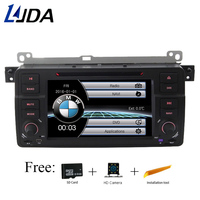 Ljda 1 DIN 7 дюймов dvd плеер автомобиля для BMW E46 3 серии 318 320 325 M3 Rover 75 мг ZT Bluetooth 1080 P gps Навигация Радио Аудио