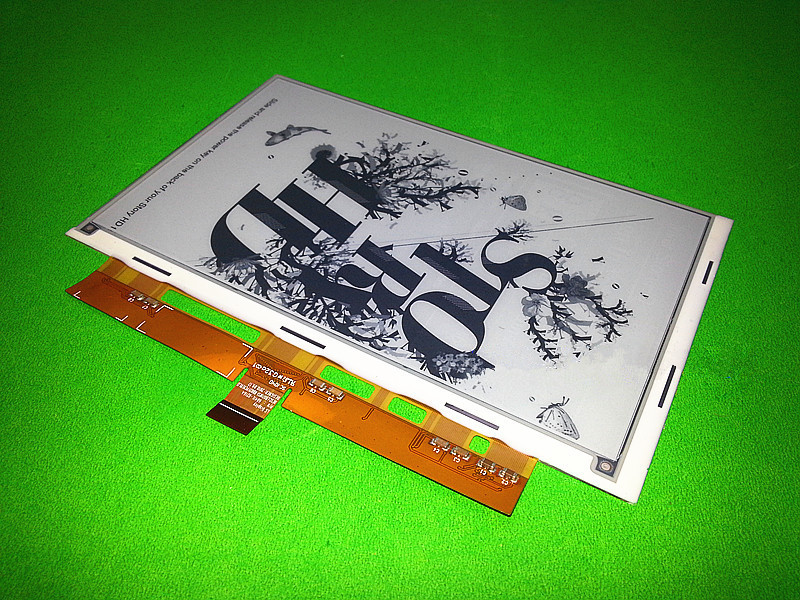 Original new 7.1 LB071WS1-RD02  E-ink E-book LCD screen For PRS-950 PRS-900 E-book LCD display Screen panel free shipping материнская плата пк asus x99 e ws x99 e ws