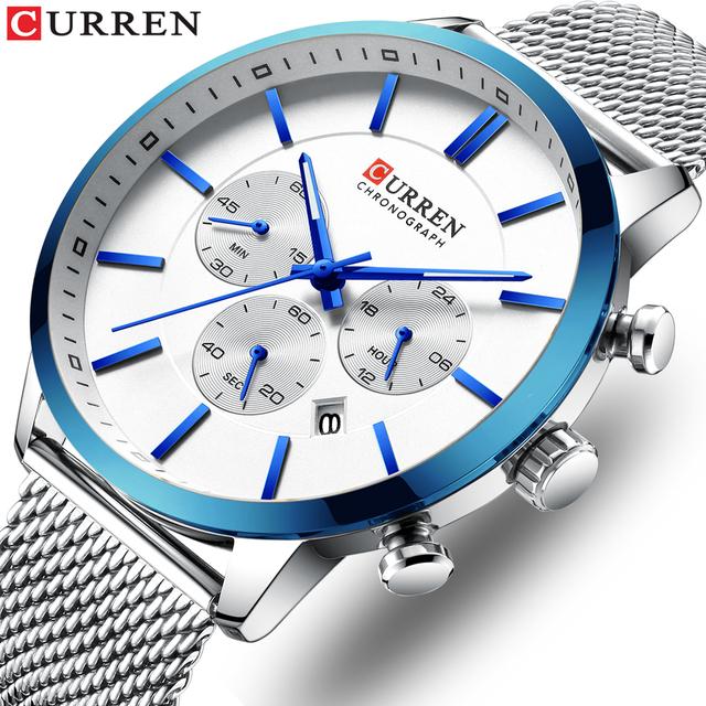Men's Casual Waterproof  Wristwatch