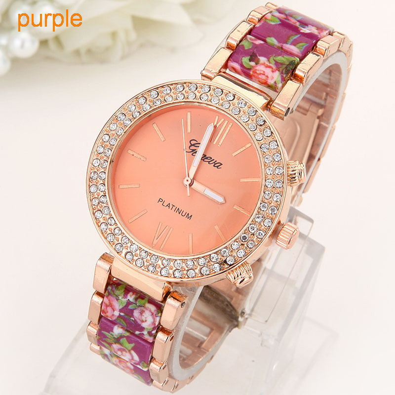 Flowers Women Watch  (5)