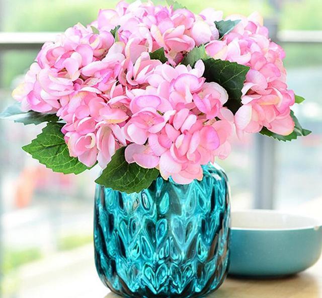 10 Stucke Grosshandel Hersteller Verkauf Einzel Seide Hortensien