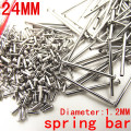 1000PCS / lot watch repair tools & kits 24MM spring bar watch repair parts Stainless steel diameter 1.2mm -SP012