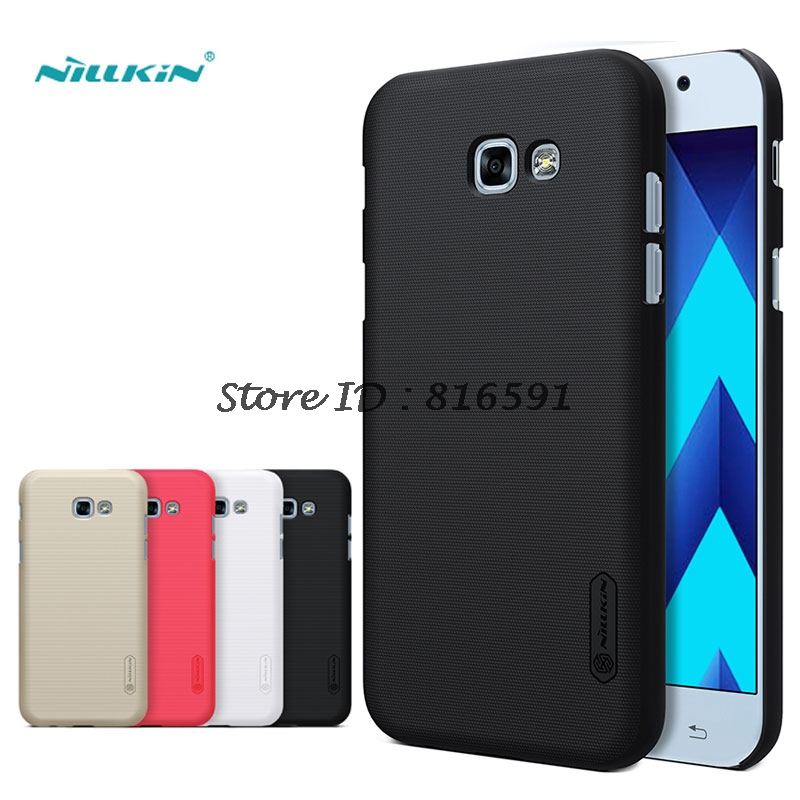 sFor Samsung Galaxy A5 2017 Case Nillkin Frosted Shield Hard Cover Case For Samsung Galaxy A5 2017 A520 Gift Screen Protector