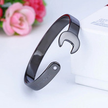Spanner Shaped Alloy Bangle