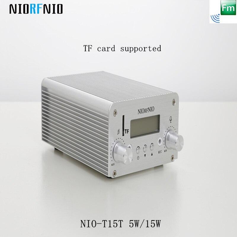 Livraison gratuite professionnelle de haute qualité NIO-T15T 15 W sans fil Audio vidéo transmetteur avec carte TF