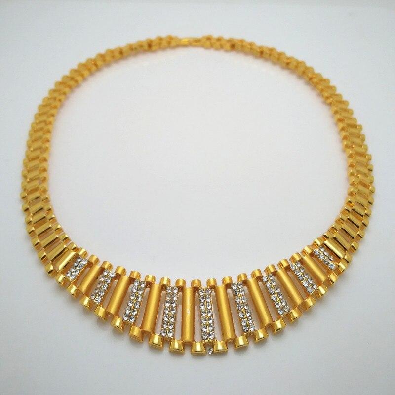 200217dbc132 Gargantilla de diamantes de imitación de lujo de cristal Maxi collar de  declaración de 2018 capas