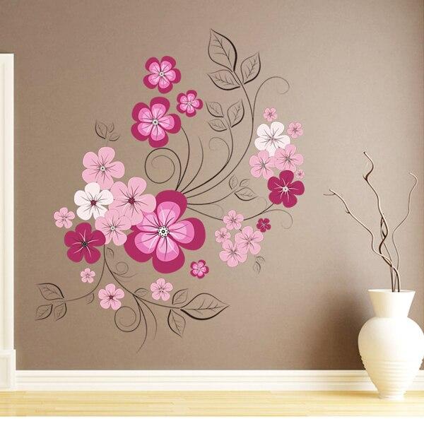 Aliexpress.com: Compre Diy dos desenhos animados 3d flor adesivos ...