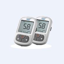 New Medical Diabetic50pcs Test Strips+50pcs Lancets Blood Sugar Tester Glucometer Household Health Monitors Blood Glucose Meter