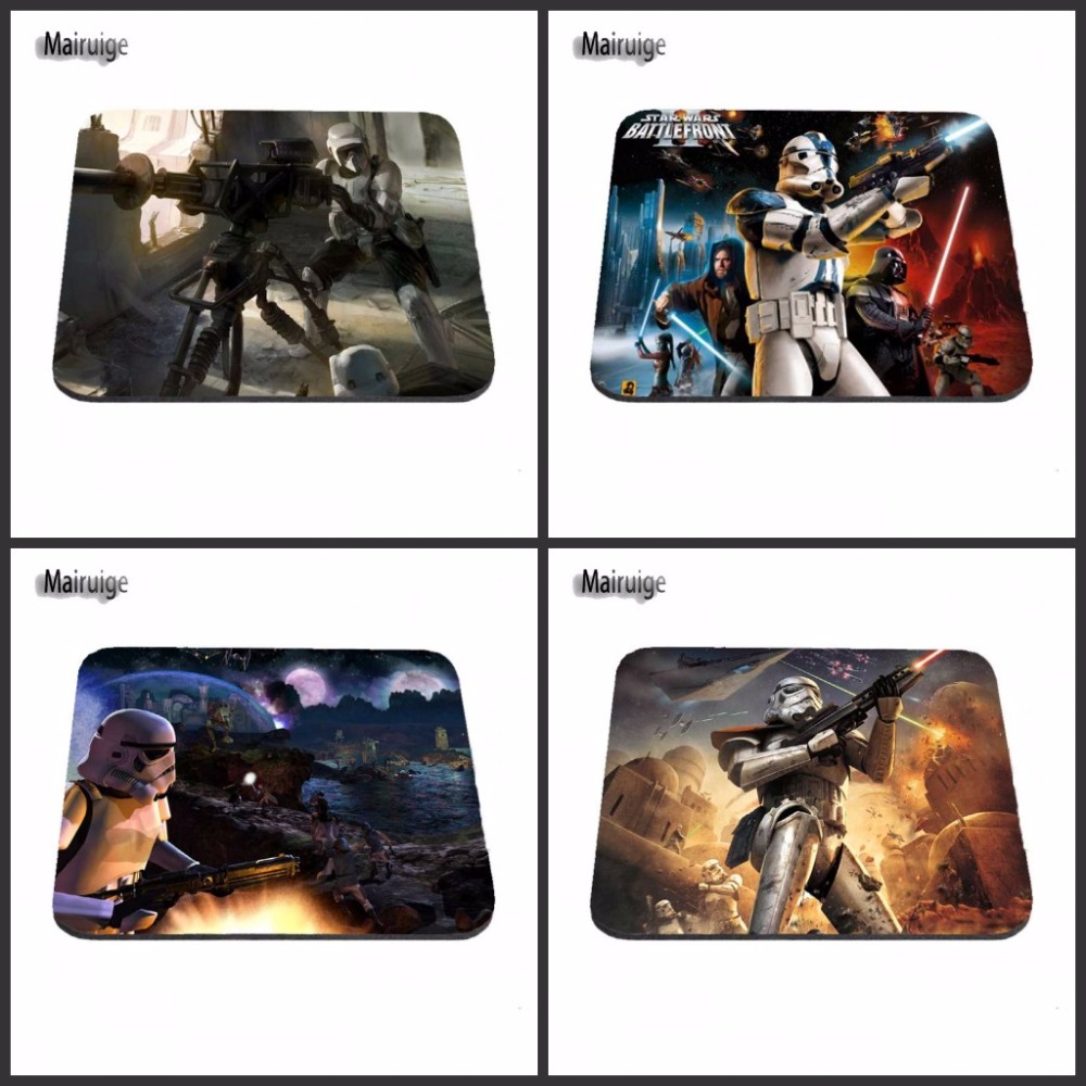 2017 Hot Sales Star Wars Republic Commando Customized Mouse Pad Computer Notebook Laptop Equipment Decor Gaming Mouse Mat image
