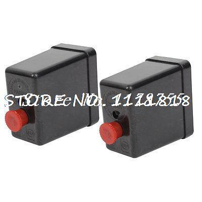 2 PCS Air Compressor Parts Pressure Switch Valve Housing Shell 240V 20A