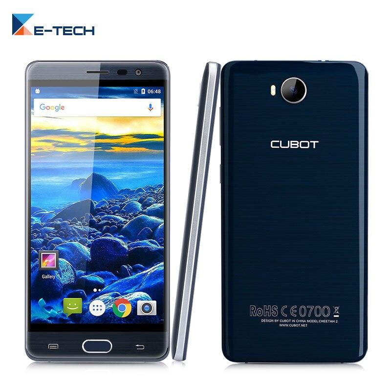 Цена за Cubot Cheetah 2 Android 6.0 Смартфон 4 Г FDD LTE MT6753 Octa Core 3 ГБ RAM 32 ГБ ROM 5.5 Дюймов FHD 1920*1080 пикселей Мобильный телефон