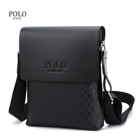 Classical Designer Videng POLO Bags Hot Sale Men Bags PU Leather Messenger Bags High Quality Fashion