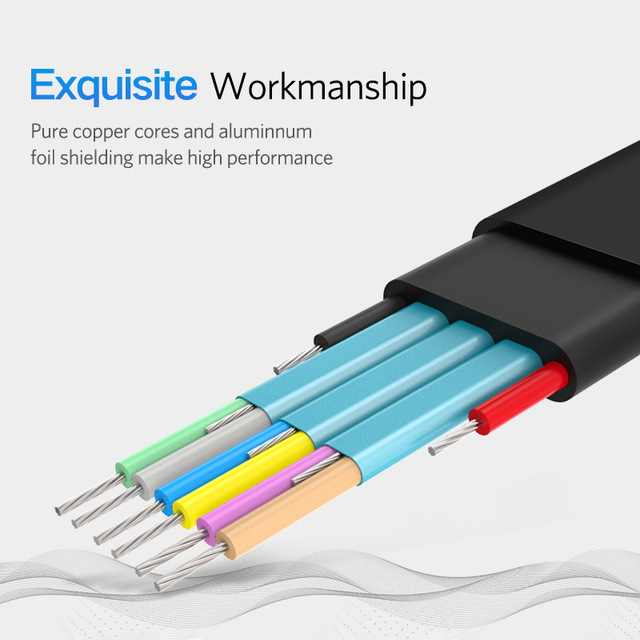 Flat USB Cable for PC