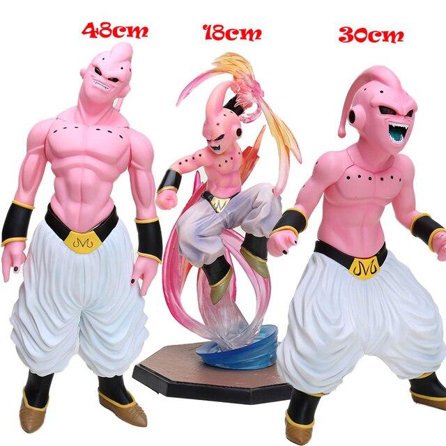 12-48 centímetros Estatueta Majin Buu PVC Figuras de Ação Dragon Ball Z Super Saiyan Dragonball Z DBZ Figuras Esferas del Dragão Brinquedos