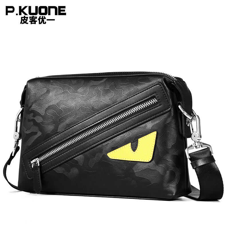 Купить New Arrival 2018 Men Fashion Shoulder Bags Genuine Leather Crossbody Bag High Quality Men's Business Travel Bags в Москве и СПБ с доставкой недорого