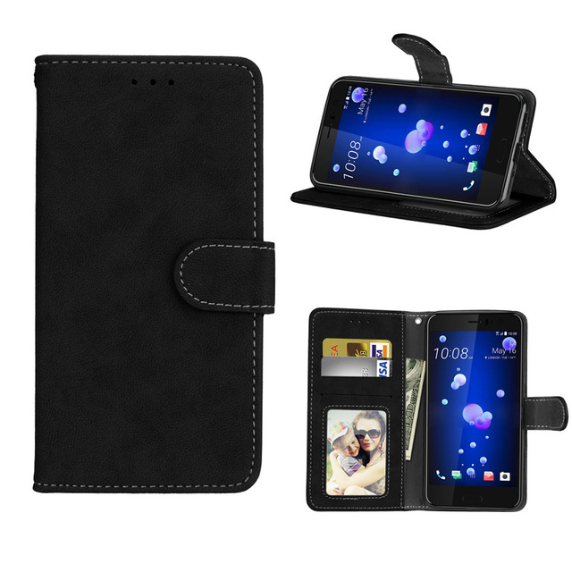 timeless design 19848 e177e Wallet Case PU Leather 5.5For HTC U11 Case For HTC U11 HTC U 11 Cell Phone  Back Cover Case-in Wallet Cases from Cellphones & Telecommunications on ...