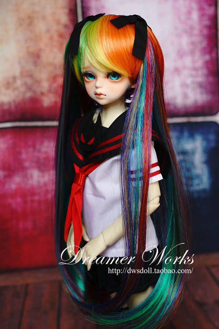 1 4 scale BJD SD accessories wig long hair for BJD MSD doll accessories Not included