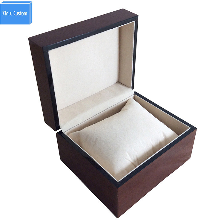 Caja de reloj de madera caja de relojes con almohada joyas regalo - Accesorios para relojes