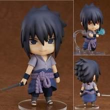 10cm Uchiha Sasuke Anime Action Figure PVC Neue Sammlung figuren spielzeug Sammlung für Weihnachten geschenk