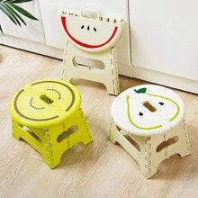 Tabouret pliant en plastique portable antidérapant famille adulte enfants petite chaise extérieure portable épais Maza petit banc